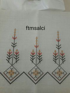 This Pin was discovered by Yur Folk Embroidery, Silk Ribbon Embroidery, Cross Stitch Embroidery, Embroidery Patterns, Cross Stitch Designs, Cross Stitch Patterns, Palestinian Embroidery, Bargello, Needlework