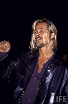 Brad Pitt - masculine perfection