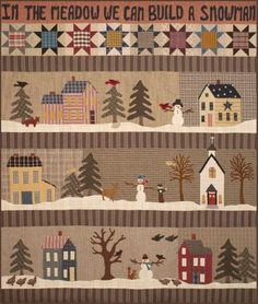 In The Meadow We Can Build A Snowman by Geoff's Mom Patterns