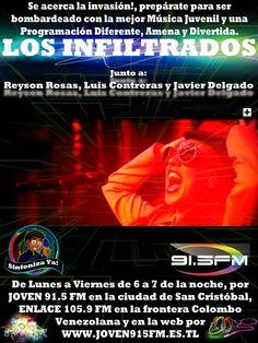 #Radio #OnLine #Musica #Rock #Pop #passion #juventus #program #Electronica #Dance #LosInfiltrados #Neon #New #2015 #LunaVier #ReysonRosas #JavierDelgado #LuisContreras #Best #More #Power #Designe #Live #Pasion #Joven91.5fm #Enlace105.9fm #Tachira #SanCristobal #Frontera #Venezuela #Colombia #Cucuta #Pamplona #Chinacota #NorteDeSantander #sc #vzla #word #colors #eyes #international #thebest #mn #monicanaranjo
