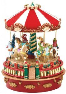 Mr. Christmas Mini Carnival Music Box, Carousel