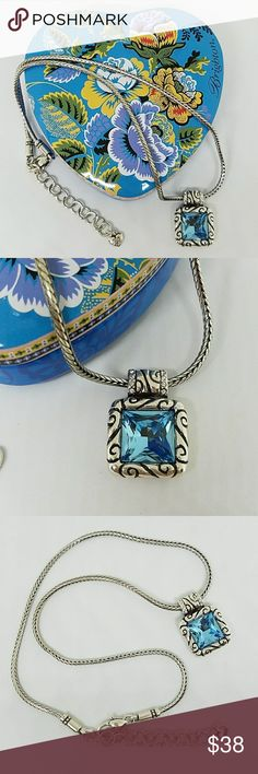 """Brighton Regina Necklace New Never Worn Brighton Regina Necklace. Chain is Approximately 16"""" in Length with 2"""" Extender. Excellent Condition. Will Come With Heart Tin. Brighton Jewelry Necklaces"""