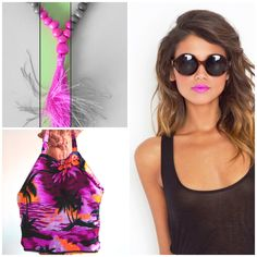 It's crisis, but hey, be smart, be bold! Use affordable make-up and accessories to spice up your outfit. Necklace: CocoNUTS Republic, Palmtree bag: Le Toko www.coconutsrepublic.com