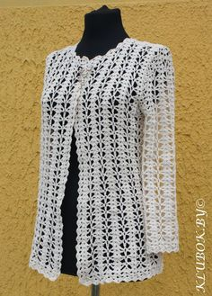 Crochet jacket in Chanel style. Discussion on LiveInternet - Russian Service Online Diaries