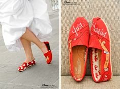 Trend Watch: Custom TOMS ShoesEver After Blog | Disney Fairy Tale Weddings and Honeymoon