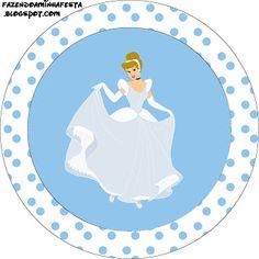 Cinderela Disney - Kit Completo com molduras para convites, rótulos para guloseimas, lembrancinhas e imagens!