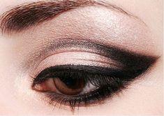 Lovely smoky eye.