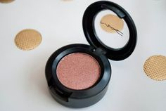 MAC Mythology. This was my first MAC eyeshadow... or was it Steamy?  Either way, I was hooked and the addiction overtook me!