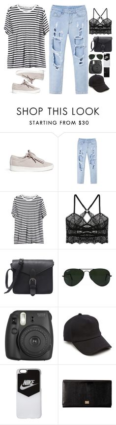"""""""Untitled #2812"""" by wtf-towear ❤ liked on Polyvore featuring Michael Kors, T By Alexander Wang, ELSE, Ray-Ban, rag & bone, NIKE and Dolce&Gabbana"""
