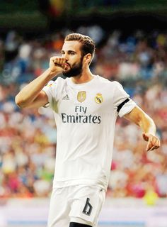 """"""" I always say the same thing: I am a Madrid fan and I will defend this badge until the death because it's the club I love the most """" First Football, Football Love, Best Football Team, Nachos, Imprimibles Real Madrid, Nacho Fernandez, Soccer Post, Fc Bayern Munich, Isco"""
