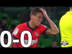 Real Betis vs Real Sociedad  ( 0-0 )  La Liga 01/03/2018