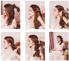 diy wedding hair