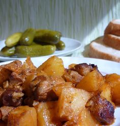 Meat Recipes, Cooking Recipes, Healthy Recipes, Roasted Pork Tenderloins, Hungarian Recipes, Hungarian Food, Special Recipes, Food 52, Food And Drink