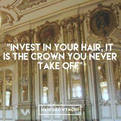 The Crown, Hair Products, Hair Growth, Your Hair, Instagram, Hair Growing, Grow Hair, Hair Buildup