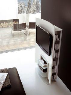 Meuble tv design FOLIO by ALIVAR | design Giuseppe Bavuso