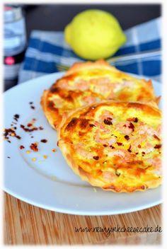 ...like a piece of New York Cheesecake...: Krabben-Zitronen-Quiche mit Chili {für's Silvester...