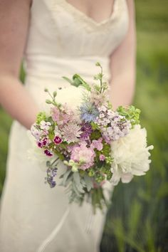 Romantic May bouquet of seasonal flowers from The Real Cut Flower Garden