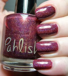 Pahlish: Blood of the Mountain - Swatches and Review | Pointless Cafe