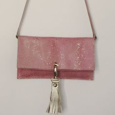 Pink and gold purse/clutch | Do Not Iron