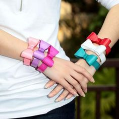 Inspiring Image Acylic Bow Bangle Cuff Tie Bowknot Large Bracelet Resolution Find The To Your Taste