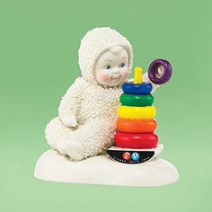 "Department 56: Products - ""Rock-A-Stack, Baby"" - View Products New for 2014 Call 410-822-8700 for availability"