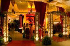 Arabian Wedding  Decor