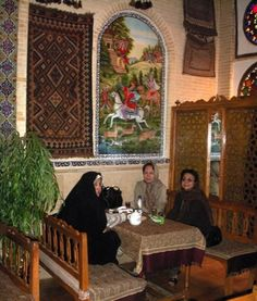 Shiraz tea house.
