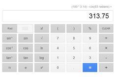 Google adds a 34-button virtual scientific calculator to search