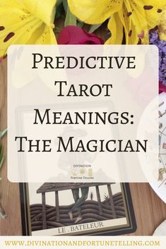 Future Tarot Meanings - The Magician — Lisa Boswell Tarot Card Meanings Pdf, Modern Meaning, Le Bateleur, Tarot Interpretation, The Magician Tarot, Le Tarot, Major Arcana Cards, Finding A New Job, Rider Waite Tarot