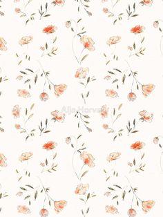 26 Ideas For Wallpaper Flowers Phone Design Floral Prints Floral Pattern Wallpaper, Cute Patterns Wallpaper, Flower Wallpaper, Summer Wallpaper, Trendy Wallpaper, Flower Pattern Design, Design Floral, Pattern Art, Print Patterns
