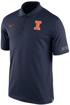Get your X's and O's with this men's Nike Illinois Fighting Illini basketball polo. Featuring an official team logo at the left chest. PRODUCT FEATURES 3-button Short sleeves Cotton/polyester Machine wash Imported