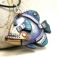 Fish Necklace by azreno