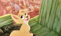 Angel, the seductive puppy from Lady and the Tramp 2, was abandoned by many families and her parents' whereabouts are unknown. I had a crush on her as a child.