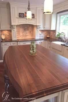#Maryland #kitchen #custom Custom Walnut Kitchen Island Countertop in Columbia Maryland columbiabrp classfirstletterYou are on the website with the largest content about islandpwalnut and Quality photograph on Our Pinterest PanelbrIf you dont like everything kitchen part of the photo we offer you when you read this photograph is exactly the features you are looking for you can see In the figure Custom Walnut Kitchen Island Countertop in Columbia Maryland columbia we say that we have… Wood Kitchen Island, Walnut Kitchen, Kitchen Countertop Materials, New Kitchen Cabinets, Ikea Kitchen, Kitchen Tips, Kitchen Ideas, Home Design, Sweet Home