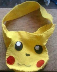 Pikachu de fieltro