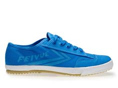Feiyue Plain Sneakers, Canvas Sneakers, Blue Canvas Shoes @ ICNbuys.com