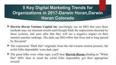*Darwin Horan Colorado~~Darwin Horan Ventana Capital inc*