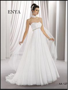 Wedding and Prom Dresses Wedding Dresses 2014, Cute Wedding Dress, Wedding Trends, One Shoulder Wedding Dress, My Perfect Wedding, Wedding Looks, Fall Wedding, Wedding Stuff, Bridal Gowns