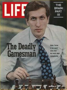 1970s Bobby Fischer first American to defeat Soviet master for world chess championship.