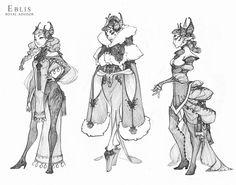 Demon and Other Ilk: Advisor Eblis, Hunter Bonyun on ArtStation at https://www.artstation.com/artwork/demon-and-other-ilk-advisor-eblis