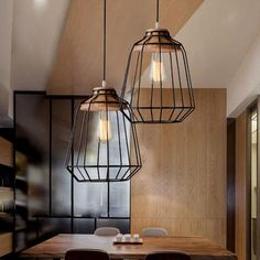 This ceiling pendant light features a stainless steel finish and classic style plate shaped cage that is perfect for urban decor styles. Use this ceiling light Cage Pendant Light, Cage Light, Cheap Pendant Lights, Industrial Pendant Lights, Kitchen Pendant Lighting, Ceiling Pendant, Ceiling Lights, Industrial Style, Bedroom Ceiling Fan Light