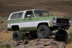 July 2016 #CK5 Chevy K5 Blazer with coil suspension