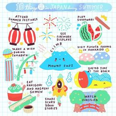 "1,937 Likes, 14 Comments - JapanLover.Me (@japanloverme) on Instagram: ""Summer's almost here in Japan! ☀️Here are just some of the activities you can do when in Japan…"""