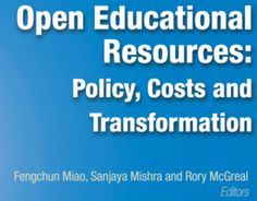 Open Educational Resources: Policy, Costs and Transformation