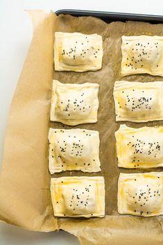 Cheese & Onion Rolls | Happy Veggie Kitchen Veg Recipes, Vegetarian Recipes, Cooking Recipes, Picnic Recipes, Picnic Ideas, Cake Recipes, Cheddar Bay Biscuits, Cheddar Cheese, Potato Rolls Recipe