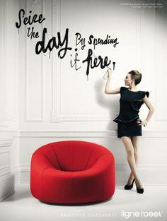 Modernes Sofa Design Ligne Roset Werbung