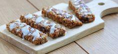 Chocolate Chip Cherry Granola Bars. Dessert or breakfast? Both work for us.