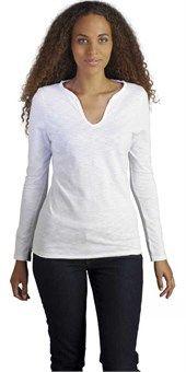 Γυναικειο slub t-shirt με μακρυ μανικι Sols MARAIS WOMEN 11426