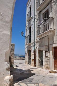 Street in Polignano a Mare, Puglia, Italy