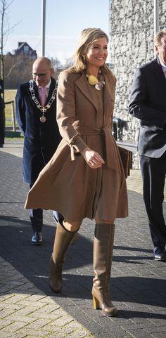 Reina Maxima de Holanda.